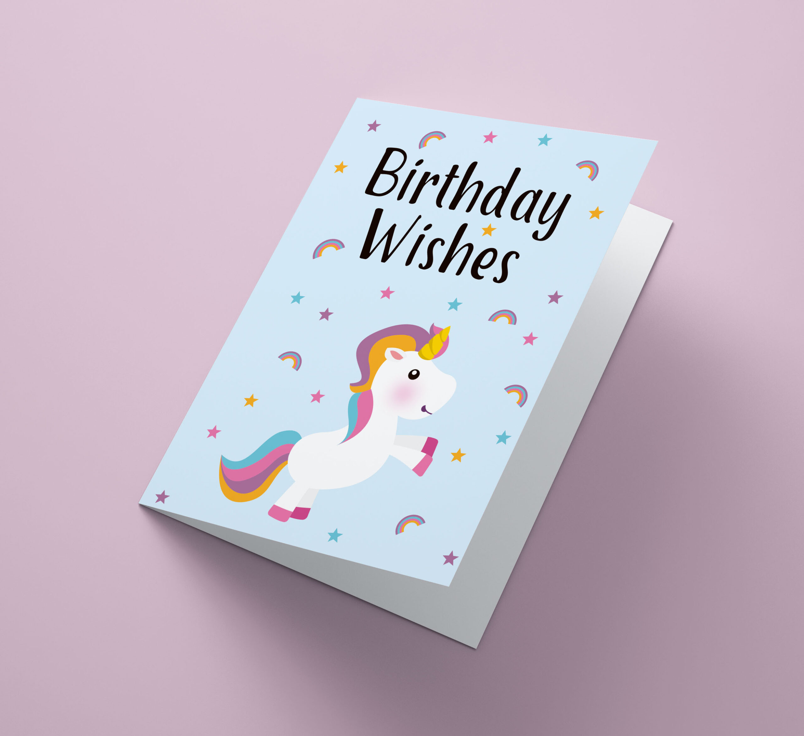 Birthday Wishes Unicorn