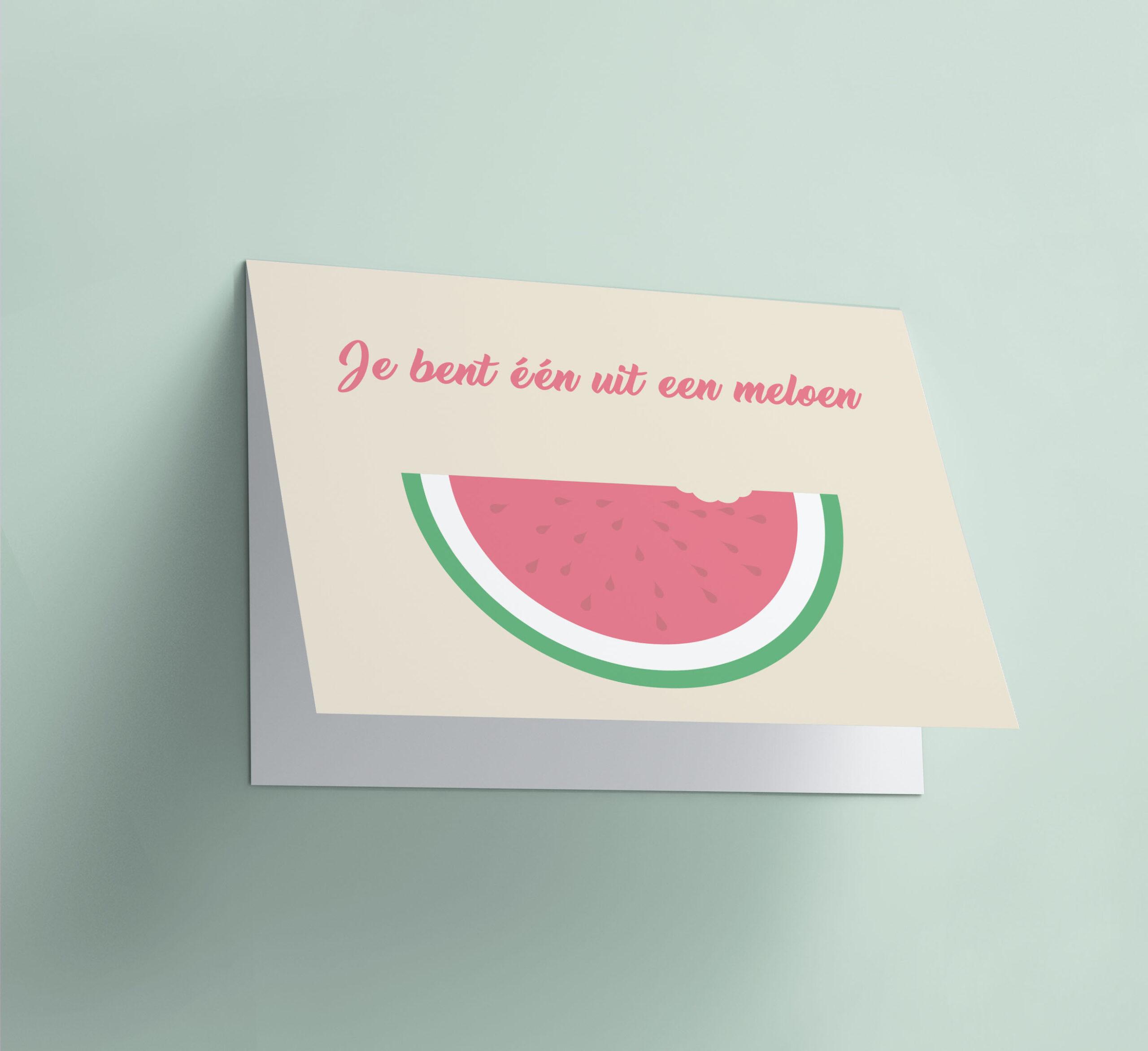 Je Bent Eén Uit Een Meloen