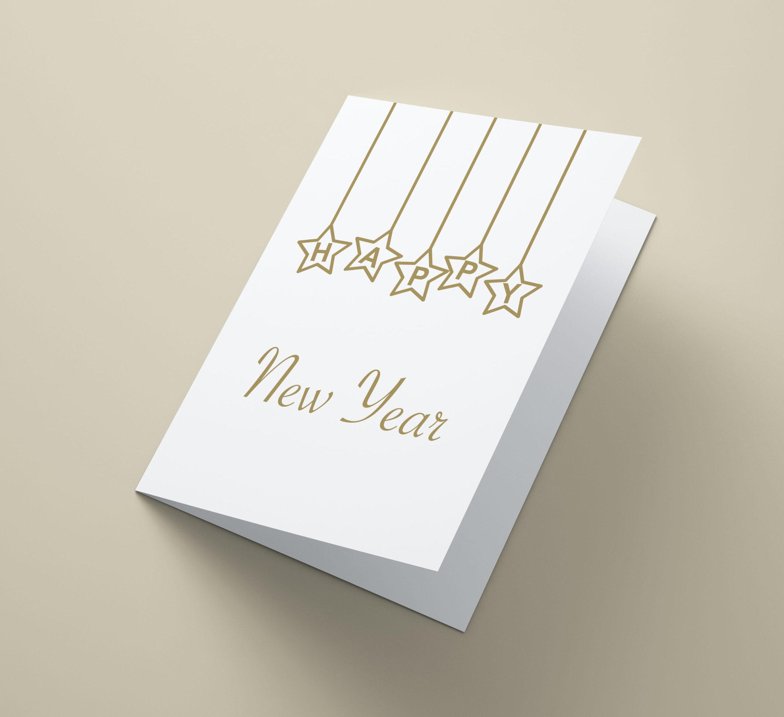 Happy New Year Stars