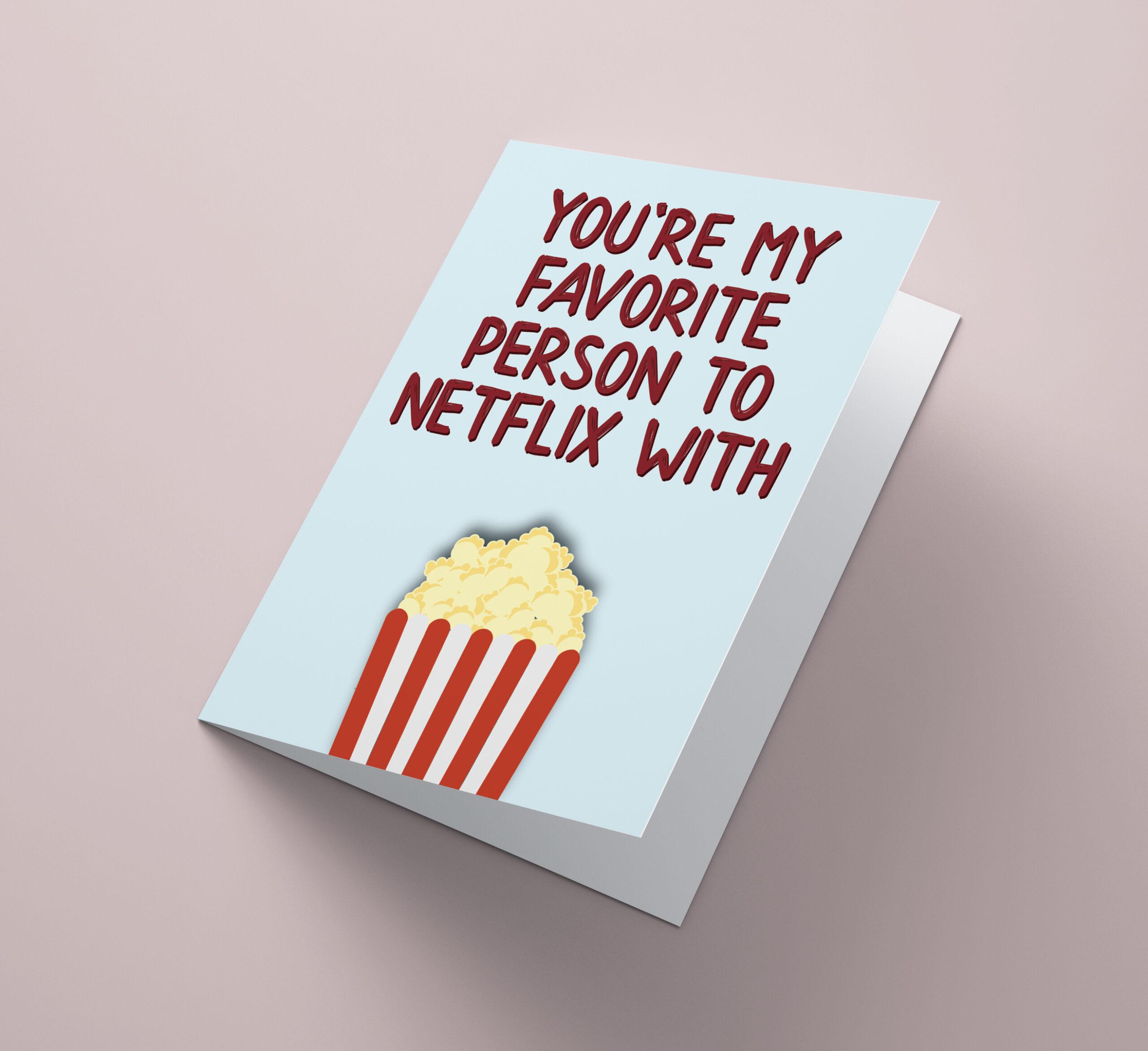 Favorite Netflix person