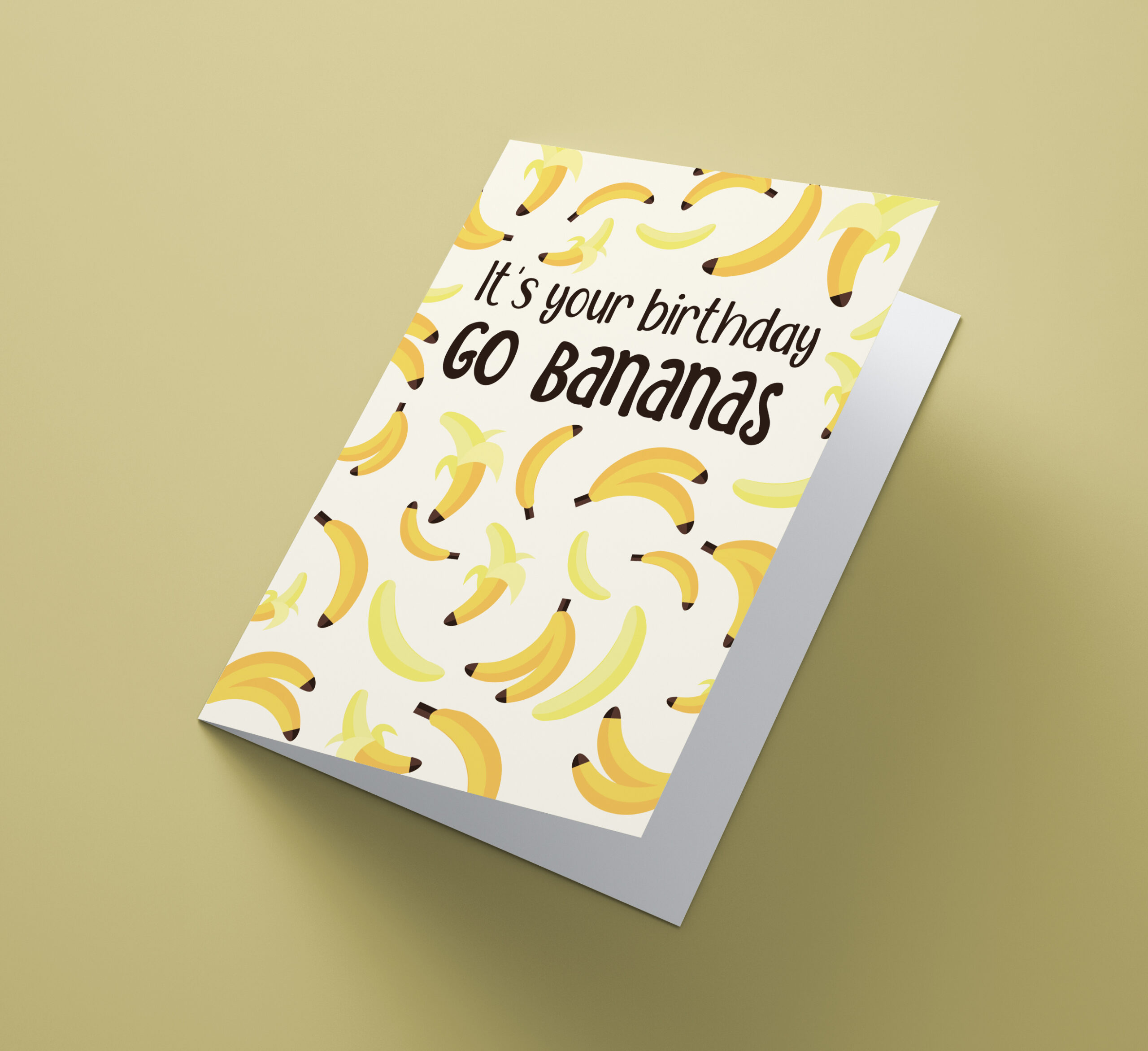 It's You Birthday, Go Bananas