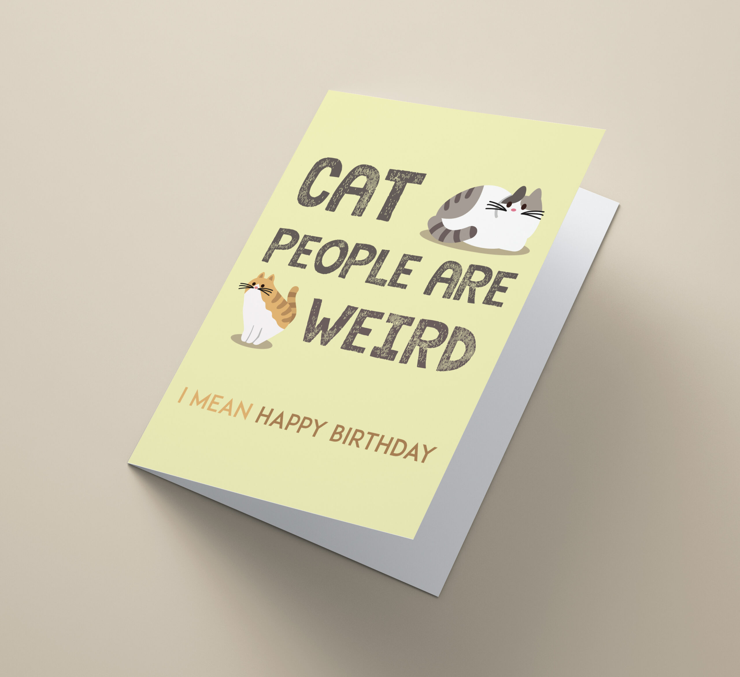 Cat People Are Weird