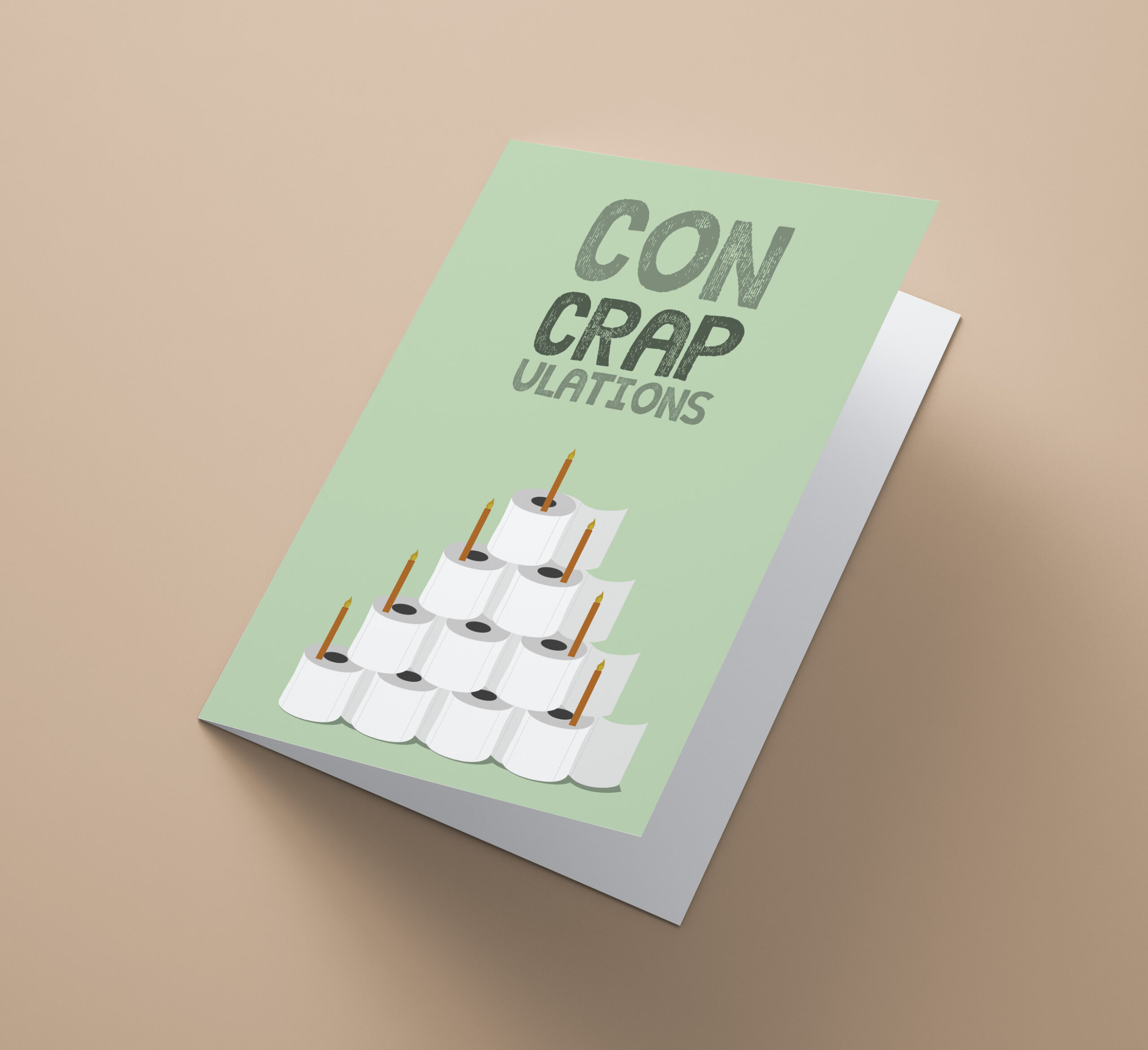 Con Crap Ulations Cake