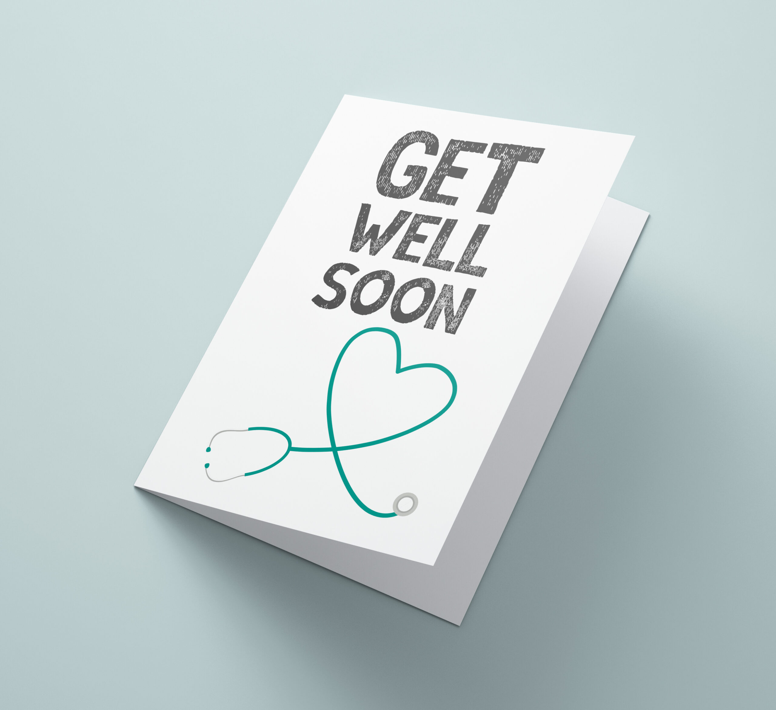 Get Well Soon Stethoscope
