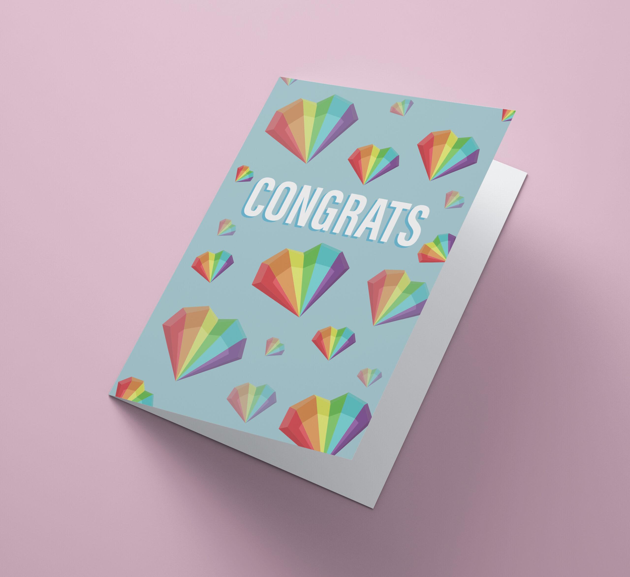 Congrats Rainbow Diamonds
