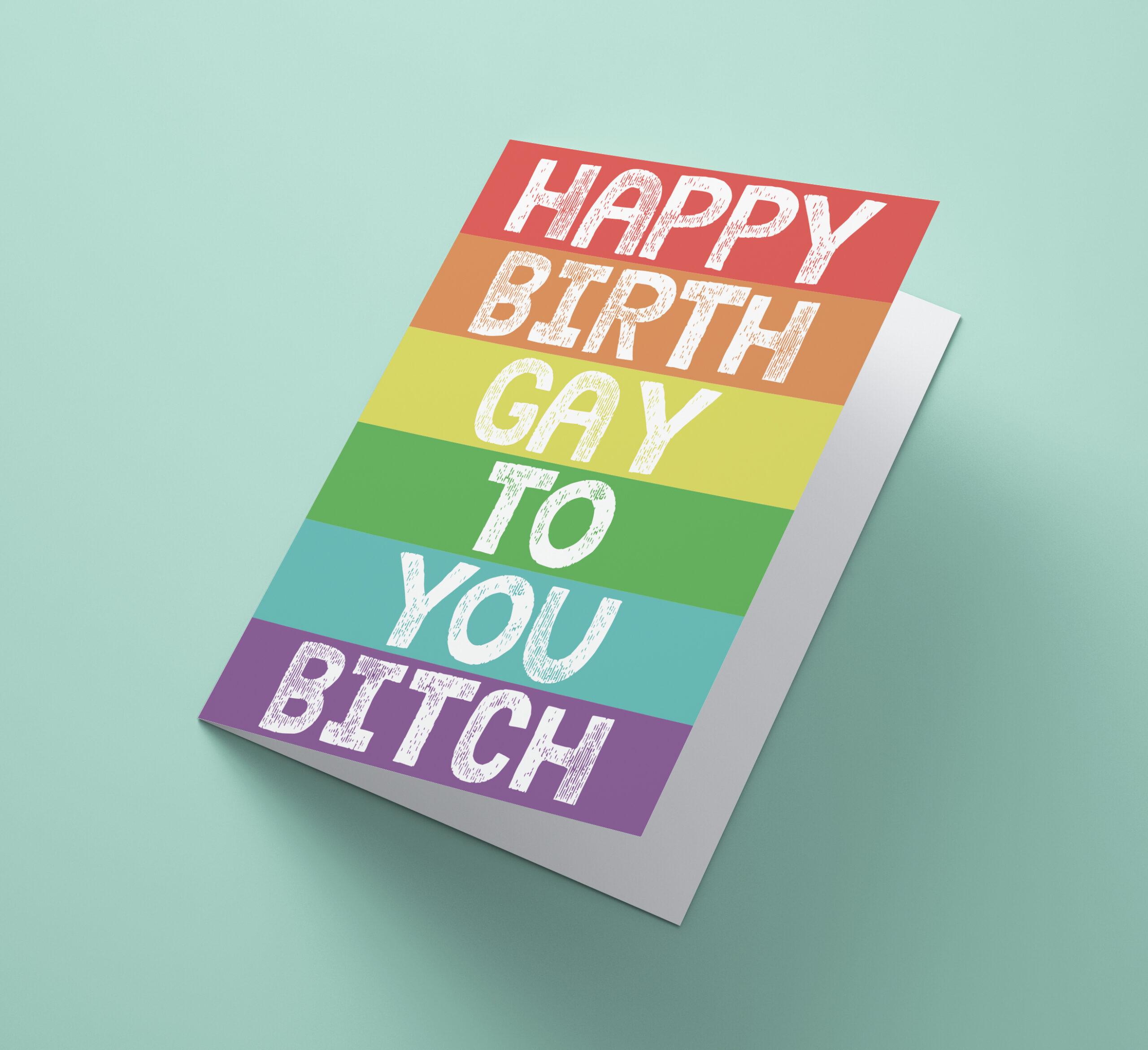 Happy BirthGay To You
